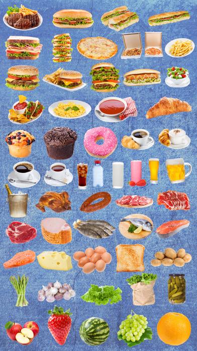 食物贴纸 - 给您的照片添加一些食物