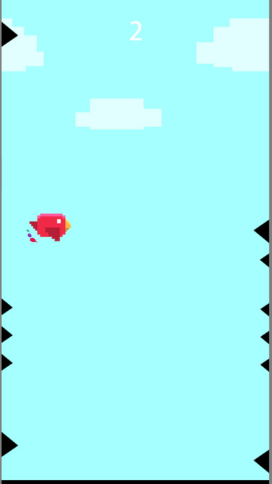 像素红鸟天空冲击