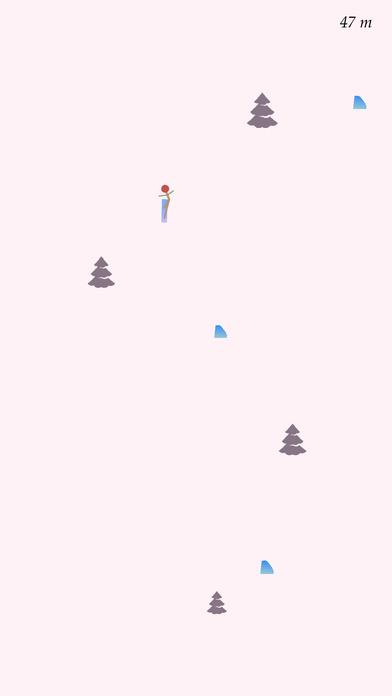 滑雪滑到1000分