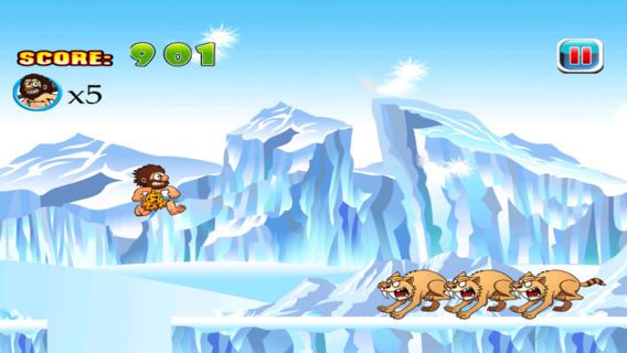 阿呆穴居人Jake的前冰期运行方式来逃避,如果你能 :Dumb Caveman Jake's Pre Ice Age Run: Ways to Escape if You Can