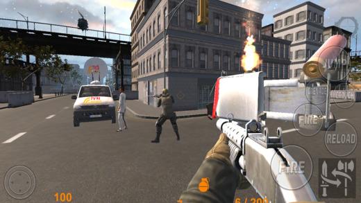 城市生存大战:坦克射击游戏