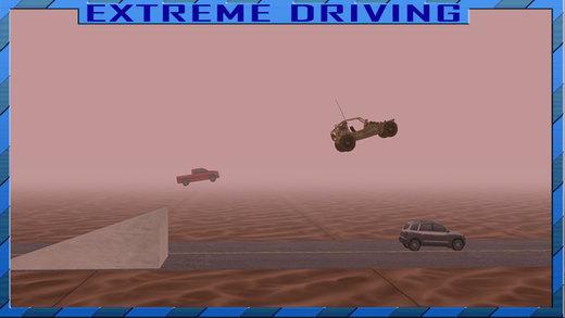 极限沙滩车模拟器的冲动