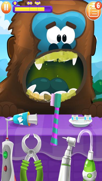 疯狂动物牙医-趣味模拟游戏,给狮子拔牙清洁牙齿