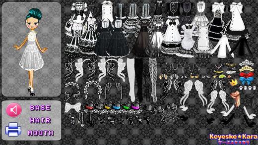 哥特式洛丽塔装扮