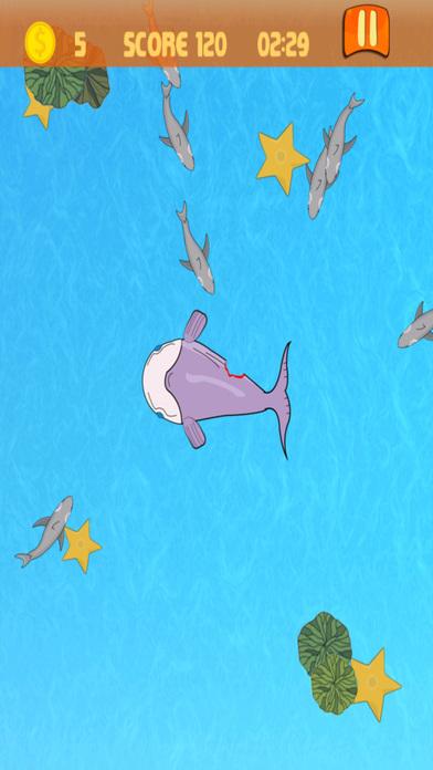 大白鲨喂食狂潮在弱鱼 免费