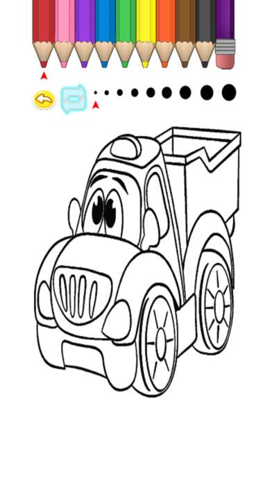 兒童圖畫書 - 可愛的小型車福島