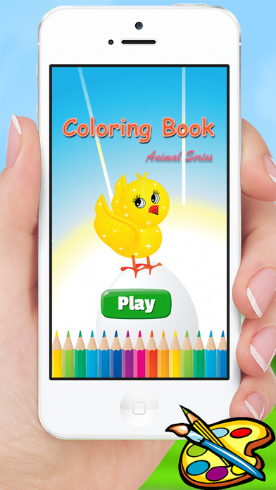 动物图画书 - 绘画为孩子和幼儿园