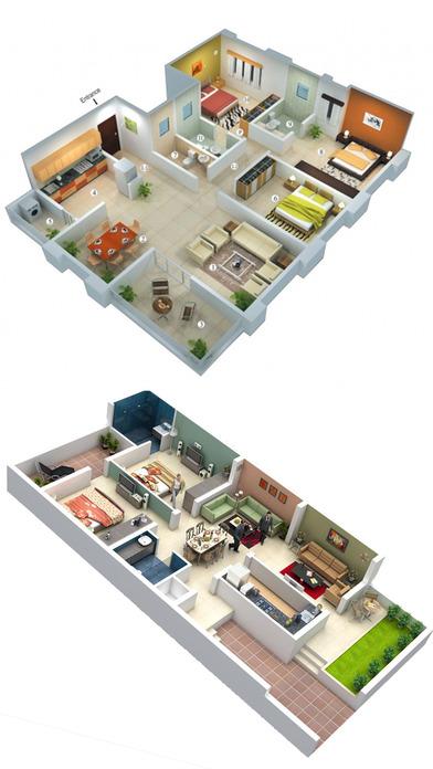家居设计 - 室内3D