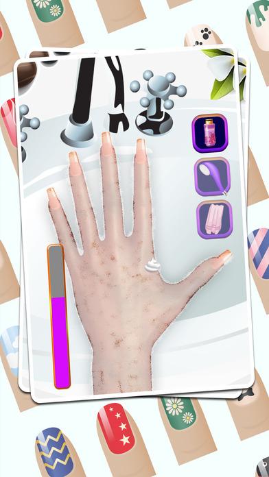 指甲时装艺术及水疗中心的虚拟沙龙
