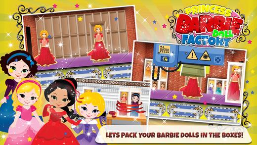 公主娃娃制造商和娃娃化妆游戏