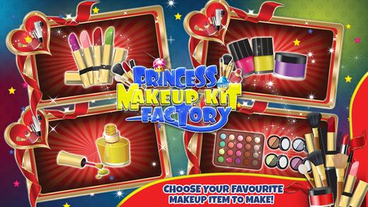 公主化妆工具包厂 - 让客厅的产品在这家美容院游戏的孩子