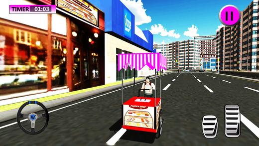 面包店糕点派送男孩&骑手模拟
