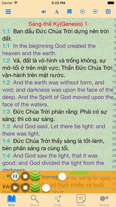 越南语和英语对照有声版圣经