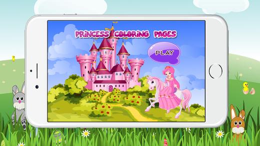 世界彩页游戏公主女孩