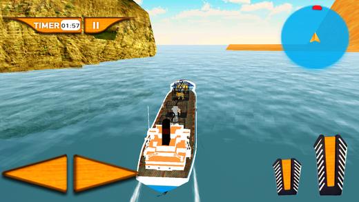 动物园动物运输船舶&航行模拟器