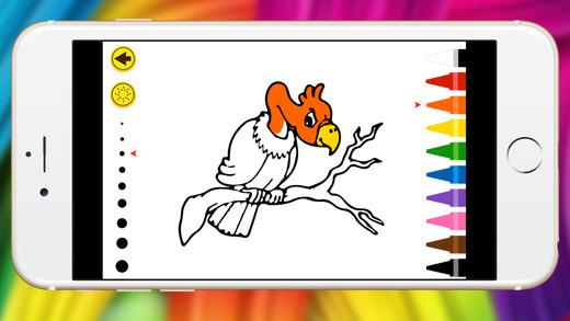 动物图画书 - 赤壁柔和的蜡笔翼路图片展
