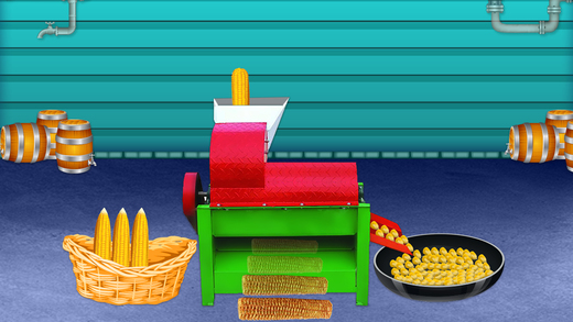 焦糖爆米花工厂厨师 - 疯狂食品厂