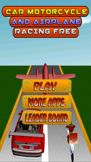 汽车摩托车和飞机赛车游戏免费