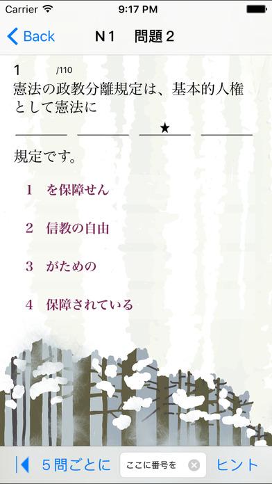 N1文法練習問題