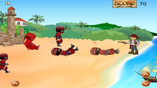 海盗对忍者攻击 - 加勒比海国防 FREE