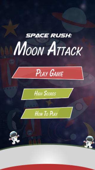 空间拉什 - 月亮攻击
