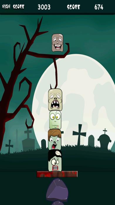 僵尸天空塔 - 可怕的面孔堆积 支付
