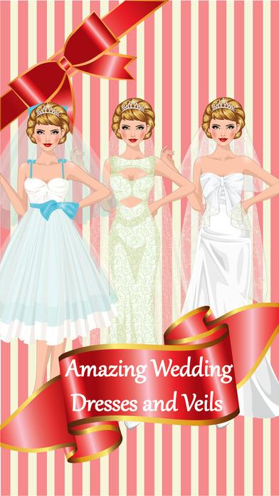 婚礼当天新娘礼服和化妆游戏