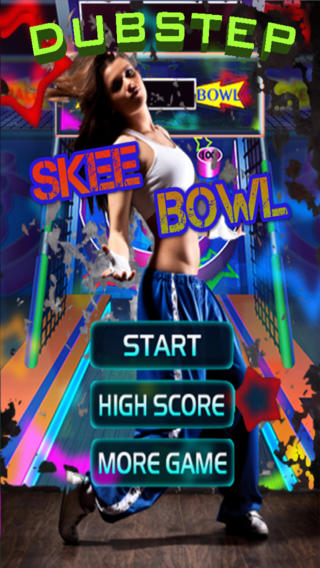 Arcade Casino Games™ Presents Dubstep Skee Bowl - 免费游戏类似浮桥滑雪系列球从你的青春的欢乐时光!