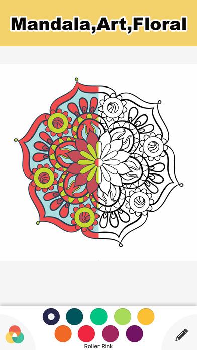 成人的彩图治疗乱画 - 秘密花园 Secret Garden 图画书成人 压力缓解