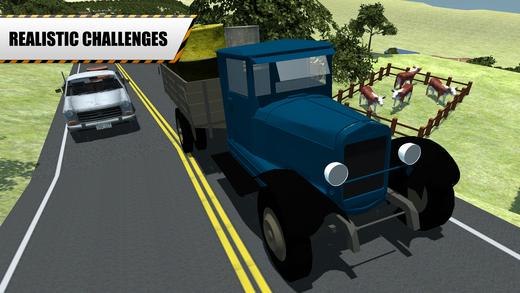 爬山汽油车 - 司机货物的货车在此驾驶模拟器游戏