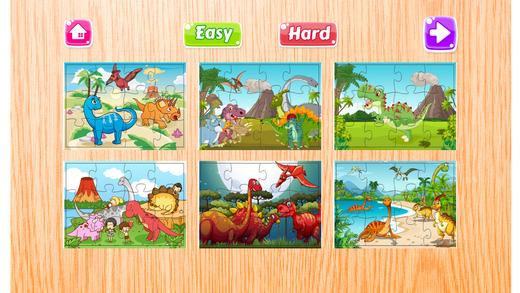 魔术之谜攻击侏罗纪恐龙拼图动物园