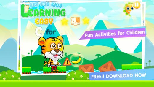 ABC学习容易让孩子