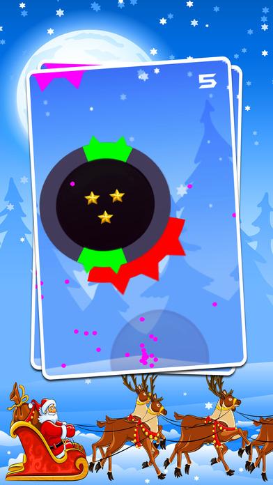 点击圣诞老人简单上瘾的游戏!