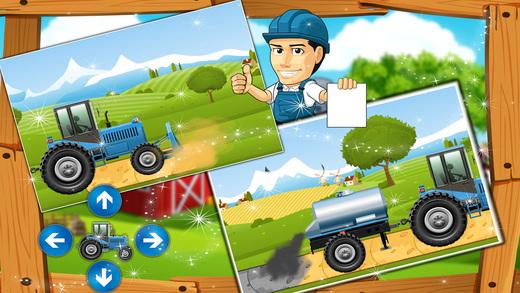 建立一个牛房子 - 农村游戏
