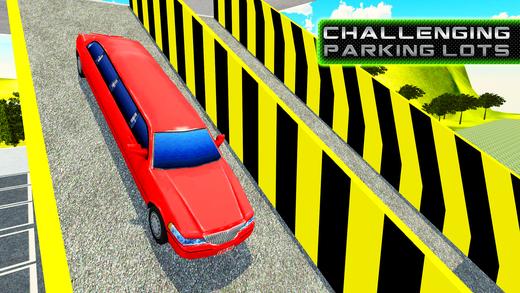 豪华轿车多层停车场和驾驶狂热