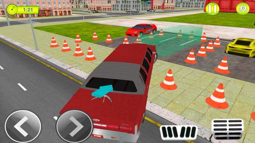 豪华轿车停车模拟器 - 豪华车司机