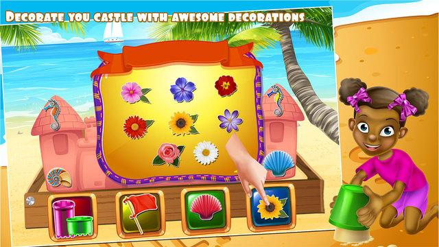 使沙子城堡 - 鲁宾逊岛&乐趣在海滩