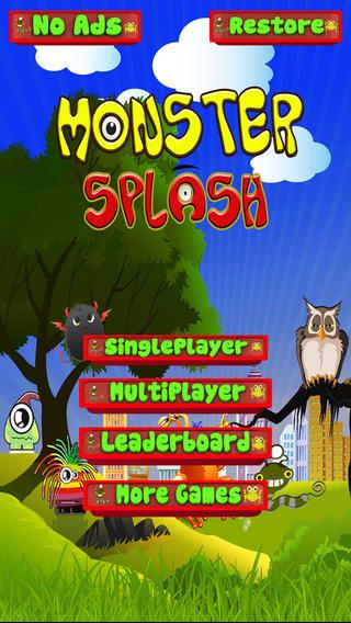 怪物飞溅 - 第3益智游戏