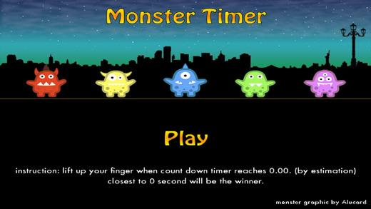 怪物计时器