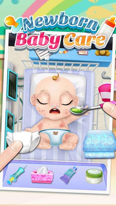 新生儿看护 - 妈妈和孩子们的游戏