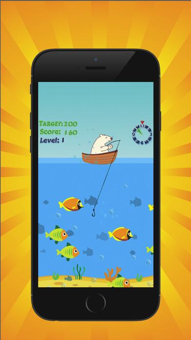 北极熊钓鱼 - 天堂钓鱼游戏
