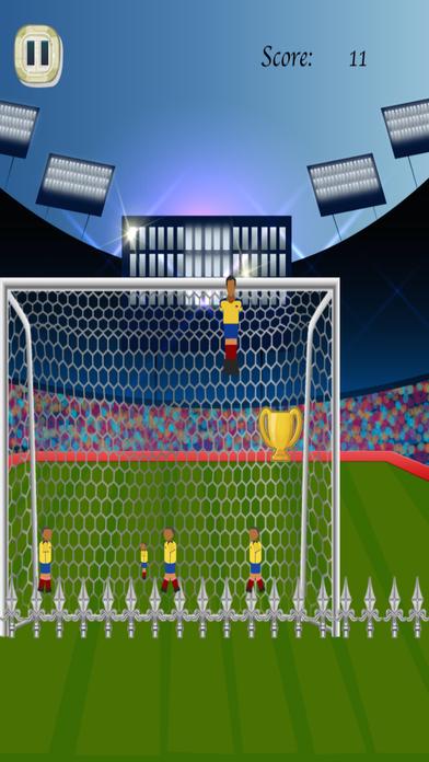 桌上足球UPS - 跳跃的守门员飞行 免费