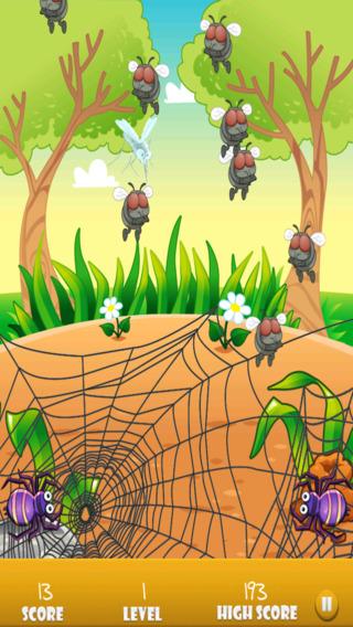 飞食品蜘蛛的Chomp - 错误救援攻丝机