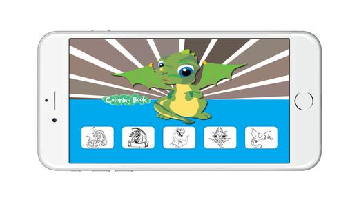 龙的图画书为孩子