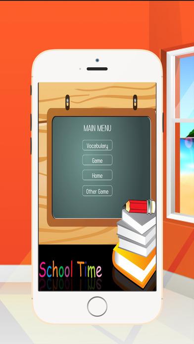 英语是有趣的1 - 为孩子3-10岁语言学习词汇游戏,学习阅读,说话和拼写