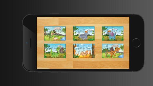 恐龍拼圖 - 教育學習遊戲為孩子和幼兒