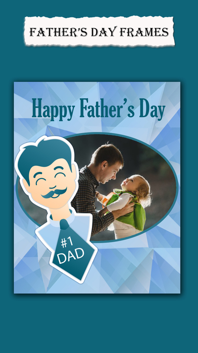 最佳父亲节照片框架和父亲节贺卡