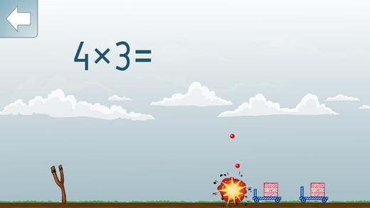 Math Shot 乘法表