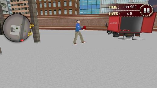 城市邮局面包车司机模拟器邮递员