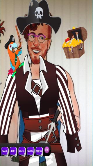 海盗虚拟化妆 - 轻松面对照片展位 免费